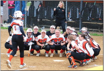 Back In The Groove: Marshladies Softball Are Sectional Champions,   Return To State Tournament