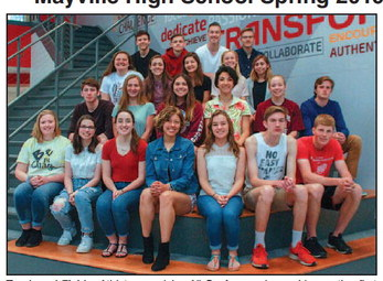 Mayville High School Spring 2019 All Conference (Flyway) Winners