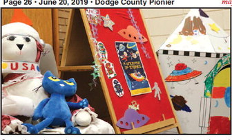 Youth Reading Program Begins At  Mayville Public Library