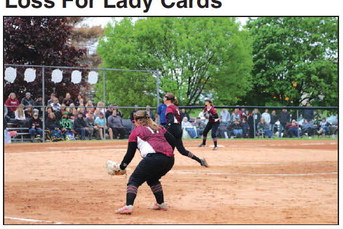 Stagnate Offense Results In Sectionals   Loss For Lady Cards