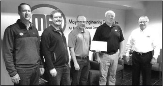 Mayville Engineering Company  Celebrates Employee Anniversaries  Spanning 30 – 45 Years