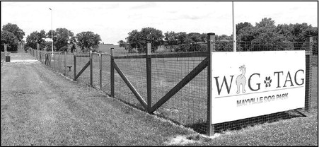 WAG 'N TAG Dog  Park Opens In  Mayville