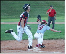Poor Pitching Results In  Lopsided Loss For  Mayville Legion Ball