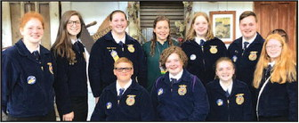 Twelve Horicon FFA Members Attend 90th   State FFA Convention