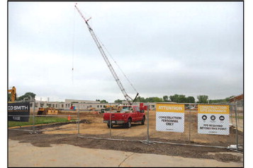 Board Of Education Gets Construction Tour At June Meeting