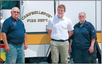 Baptiste Visits Campbellsport