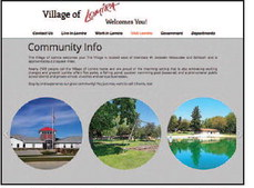 Village of Lomira Revamps Website In Effort To   Be More User-Friendly