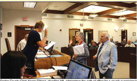 Naomi Kriewald Fills  Dodge County  Supervisor Seat