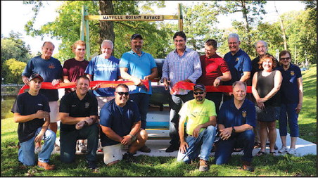 Mayville Rotary Club Provides Kayaks For Public Use On Rock River