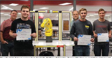 MHS Robotics Team Garners Win At Industrial Robotics Competition,
