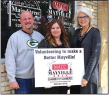 Mayville Area Chamber Of Commerce  Striving To 'Make A Better Mayville'