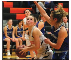 Lady Card Basketball Falls To Campbellsport In First Game Of Season