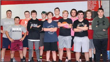 Mayville Wrestling –  Cardinal Strong