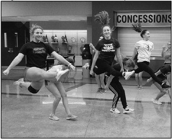 Dance Team Excited  For New Year
