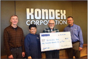 Kondex Associates Make the Holidays Brighter   For Local Community