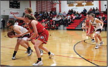 Strong Second Half Leads Lady Cards Over Lady Lions