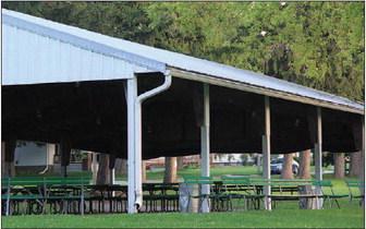 Board Discusses  Park Pavilion Upgrades