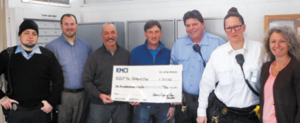 KMCI's Trauma Informed  Care Committee Donates  To The Father's Club