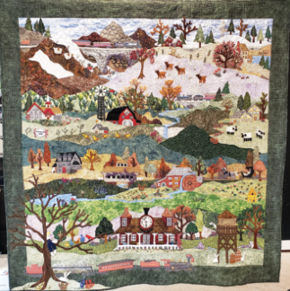 Campbellsport Quilter Is A Contestant At AQS QuiltWeek