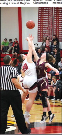 Lady Cards' Season Ends In Regionals