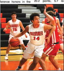 Six Horicon Senior Baskeball Players  Receive All-Conference Awards