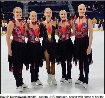 LHS Graduate Prepping For  World Skating Championship