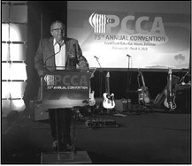 Tagliapietra Inducted Into The PCCA Hall Of Fame