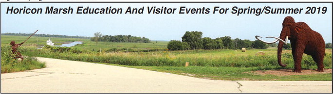 Horicon Marsh Education And Visitor Events For Spring/Summer 2019