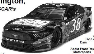 Scag Power Equipment Joins Front Row  Motorsports At Darlington,