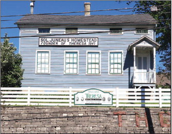 Juneau House In Theresa Listed On State Register  Of Historic Places