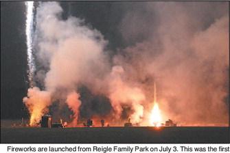 Kewaskum Celebrates  Holiday With A Bang
