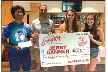 LHS Class Of 2020  Donates Legacy Gifts