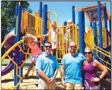 If You Build It They Will Play, Burnett  Finishes Park Playground Revitalization