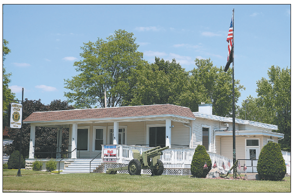 American Legion Wants  To Replace Post's Roof