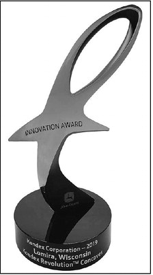 Kondex Receives  John Deere Supplier  Innovation Award