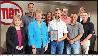 MEC Receives Moraine Park  Excellence In Partnership Award