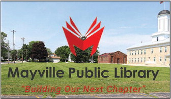 New Mayville Public Library Off To Good  Start, Community Campaigns Begin