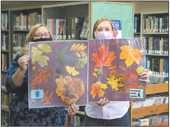 Kewaskum Public Library  Offers StoryWalk