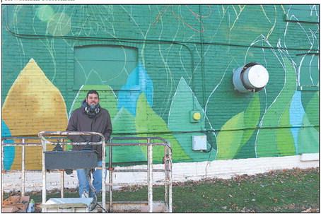 Mural Brings Happiness To Kewaskum