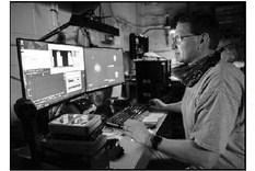 MHS Graduate, Brett Huhman, Among NRL Researchers  Evaluating Ultraviolet Sources To Combat COVID-19