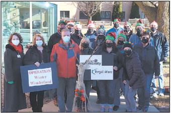 Regal Ware Participates In Cedar  Community's Operation Winter
