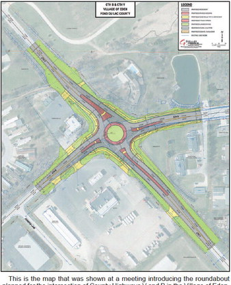 Eden Residents Learn  About Proposed  Roundabout