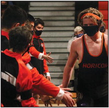 Late Rally Pushes Beaver Dam Wrestling  Ahead Of Horicon, Marshmen Fall 33-38