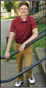 Rotary names Mark Hazelberg  April Student of the Month