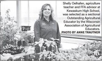 Kewaskum Teacher Named  Outstanding Agricultural Educator